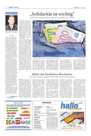 Hallo Wochenende, Ausgabe 200516 Seite, 2