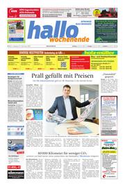 Hallo Wochenende, Ausgabe 201121 Seite, 1