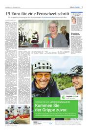 Hallo Wochenende, Ausgabe 201121 Seite, 3