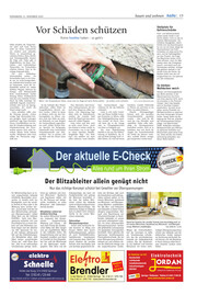 Hallo Wochenende, Ausgabe 201121 Seite, 19