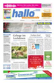 Hallo Wochenende, Ausgabe 201223 Seite, 1