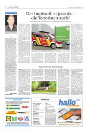 Hallo Wochenende, Ausgabe 201223 Seite, 2