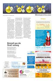Hallo Wochenende, Ausgabe 201223 Seite, 15