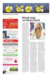 Hallo Wochenende, Ausgabe 201223 Seite, 20