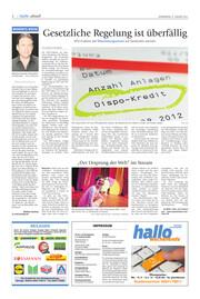Hallo Wochenende, Ausgabe 210109 Seite, 2