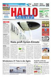 Hallo zum SONNTAG Hameln Ausgabe 003