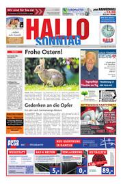 Hallo zum SONNTAG Hameln Ausgabe 012