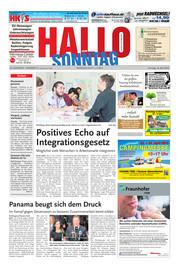 Hallo zum SONNTAG Hameln Ausgabe 015