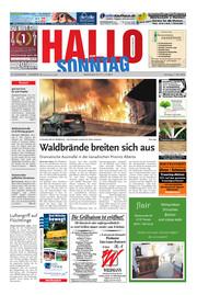 Hallo zum SONNTAG Hameln Ausgabe 018