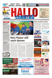 Hallo zum SONNTAG Hameln Ausgabe 037