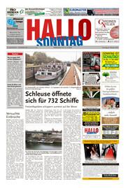 Hallo zum SONNTAG Hameln Ausgabe 040