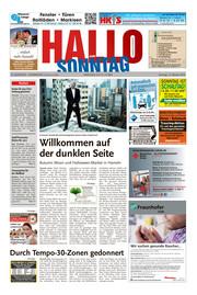 Hallo zum SONNTAG Hameln Ausgabe 041