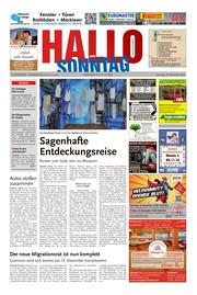 Hallo zum SONNTAG Hameln Ausgabe 046