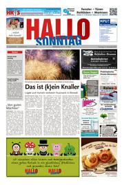 Hallo zum SONNTAG Hameln Ausgabe 052