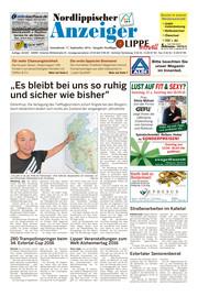 Nordlippischer Anzeiger Ausgabe 260