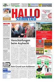 Hallo zum SONNTAG Bad Pyrmont Ausgabe 004