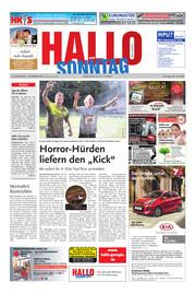 Hallo zum SONNTAG Bad Pyrmont Ausgabe 030