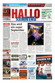 Hallo zum SONNTAG Bad Pyrmont Ausgabe 035