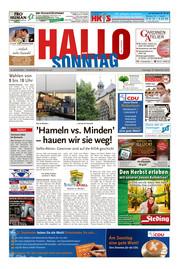 Hallo zum SONNTAG Bad Pyrmont Ausgabe 036