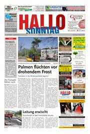 Hallo zum SONNTAG Bad Pyrmont Ausgabe 040