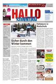 Hallo zum SONNTAG Bad Pyrmont Ausgabe 042