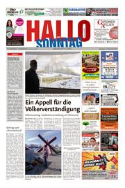 Hallo zum SONNTAG Bad Pyrmont Ausgabe 045