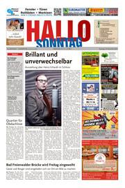 Hallo zum SONNTAG Bad Pyrmont Ausgabe 046
