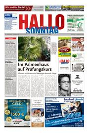 Hallo zum SONNTAG Bad Pyrmont Ausgabe 048