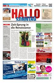 Hallo zum SONNTAG Bad Pyrmont Ausgabe 050