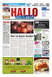 Hallo zum SONNTAG Bad Pyrmont Ausgabe 052