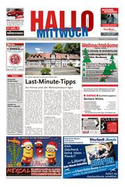 Hallo MITTWOCH Bad Pyrmont Ausgabe 051