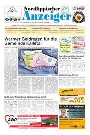 Nordlippischer Anzeiger, Ausgabe 200418 Seite, 1